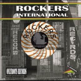 "Rockers International-7""-Blackman Heart / Junior Delgado"