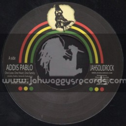 "Jah Solid Rock-7""-One Love, One Heart, One Family / Addis Pablo"