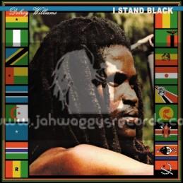 Message-Lp-I Stand Black / Delroy Williams
