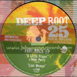 "Deep Root-10""-Favi Rock Ep-Feat. Fitta Warri , Lua & Omar Perry"
