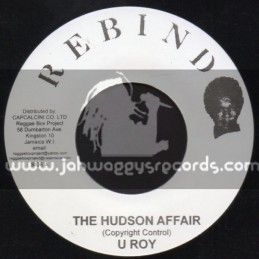 "Rebind-7""-The Hudson Affair / U Roy"