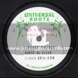 "Universal Roots-10""-Strange Things / Ruben De Silva + Jah Is The Ruler / Peter Roots"