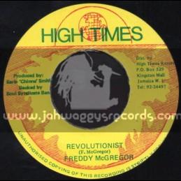 "High Times-7""-Revolutionist / Freddie Mcgregor"