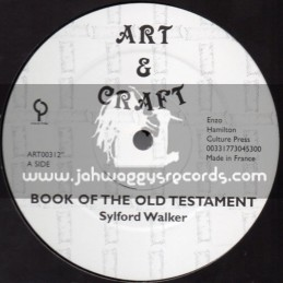 "Art & Craft-12""-Book Of Old Testament / Sylford Walker"