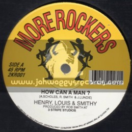 "More Rockers-12""-How Can Man / Henry,Louis + Smithy + Love & Understanding / Henry & Louis"