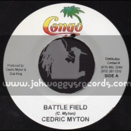 "Congo-7""-Battle Field / Cedric Myton"
