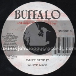 """Buffalo Music Production-7""""-Cant Stop It / White Mice"""