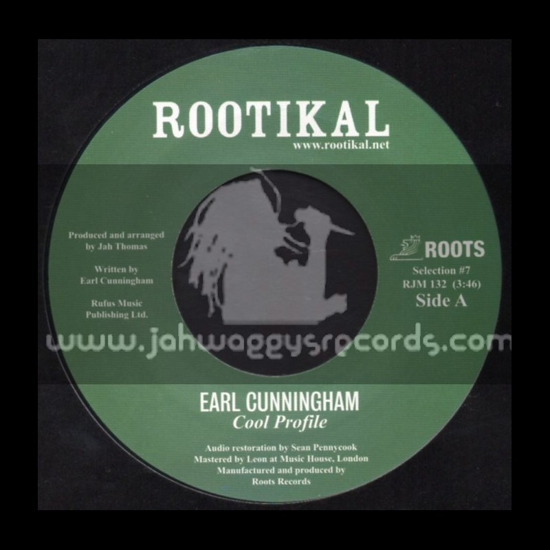 "Rootikal-7""-Cool Profile / Earl Cunningham"