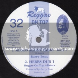 """Reggae On Top-10""""-Mission Against Herbs / Barry Issac"""