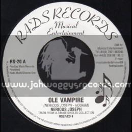 "Rads Records-7""-Ole Vampire / Nerious Joseph"