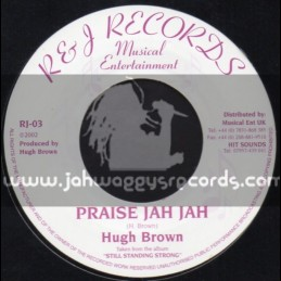 "R&J Records-7""-Praise Jah Jah / Hugh Brown"
