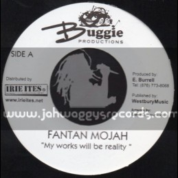 "Buggie Productions-7""-My Works Will Be Reality / Fanton Mojah"