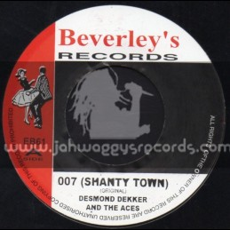 "Beverleys Records-7""-007 Shanty Town / Desmond Decker & The Aces"