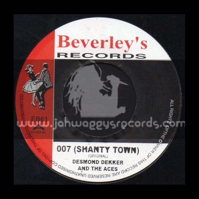 "Beverleys Records-7""-007 Shanty Town / Desmond Decker & The Aces"