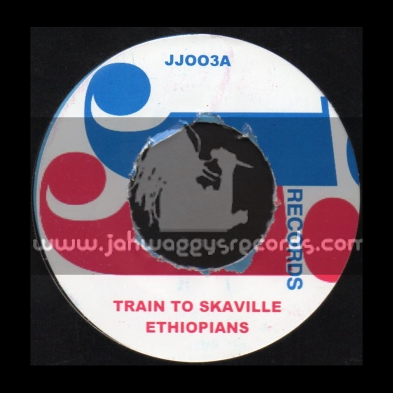 "J J Records-7""-Train To Skaville / Etiopians"