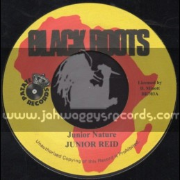 "Black Roots-7""-Junior Nature / Junior Reid"