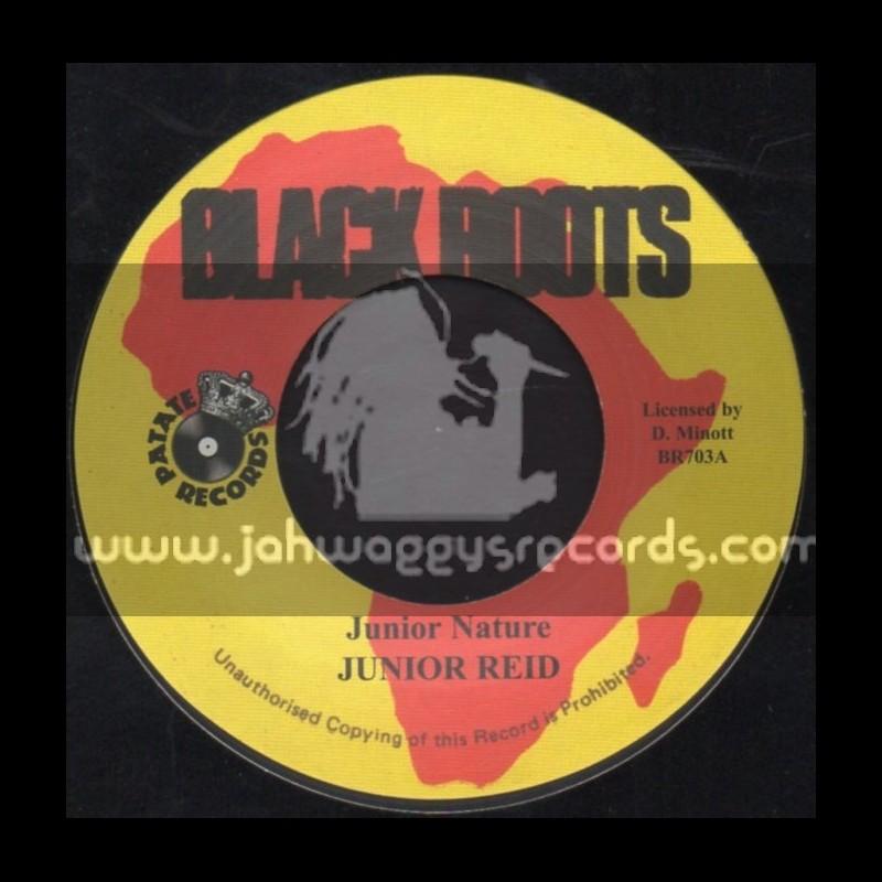 """Black Roots-7""""-Junior Nature / Junior Reid"""