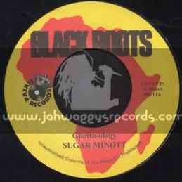 "Black Roots-7""-Ghetto-ology / Sugar Minott"