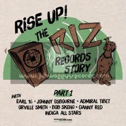 Bristol Archive-Riz Records-Lp-Rise Up The Riz Records Story - Part 1
