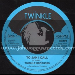 """Twinkle Brothers-7""""-To Jah I Call / R. Grant"""