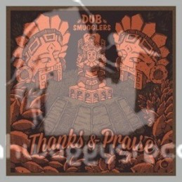 "Dub Smugglers-12""-Thanks & Praise Ft.Super Four + Rasta Praise Ft. Kuntri Ranks"