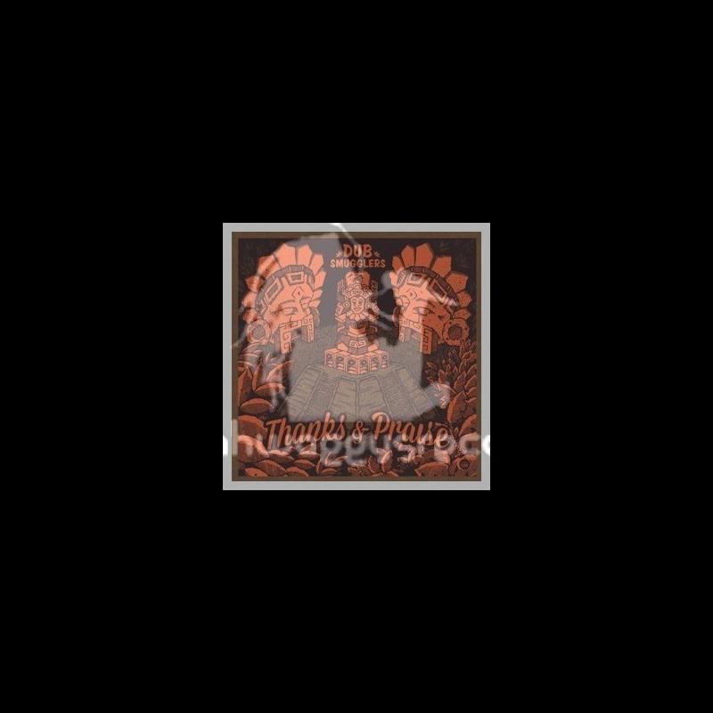 """Dub Smugglers-12""""-Thanks & Praise Ft.Super Four + Rasta Praise Ft. Kuntri Ranks"""