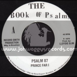 "The Book Of Psalm-7""-Psalm 87 / Prince Far I"