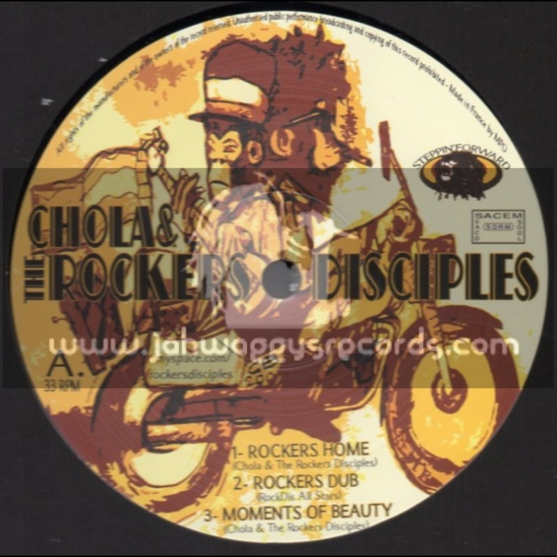 """Stepping Forward-12""""-Rockers Home / Chola & The Rockers Disciples"""