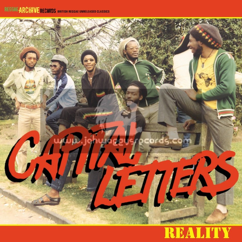 Archive Reggae Records-Lp-Reality / Capital Letters (Unreleased 1985 Recordings)