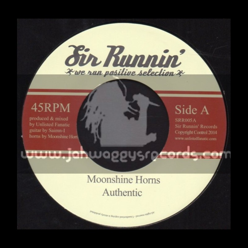 "Sir Runnin-7""-Authentic / Moonshine Horns"