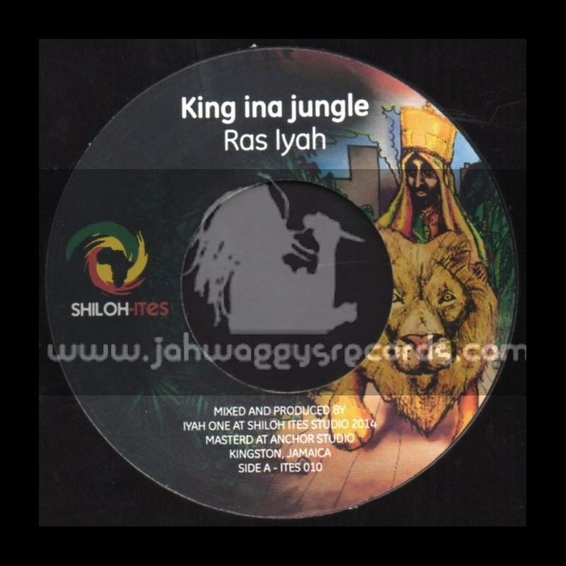 "Shiloh Ites-7""-King Ina Jungle / Ras Iyah"