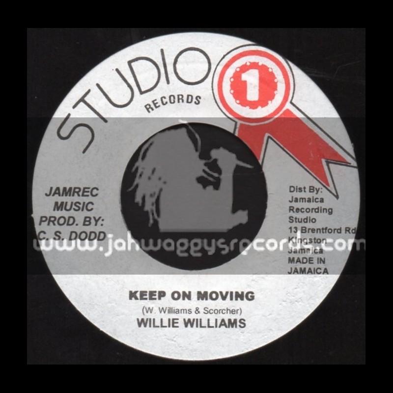 """Studio 1-7""""-Keep On Moving / Willie Williams"""