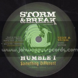 """Storm & Break Records-7""""-Something Different / Humble I"""