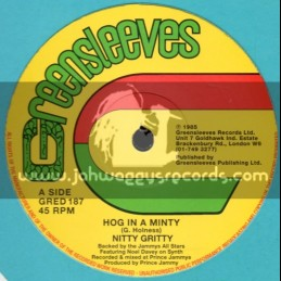 "Greensleeves-12""-Hog In A Minty + Run Down The World / Nitty Gritty"