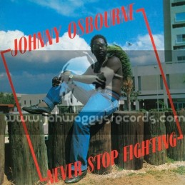 Greensleeves-LP-Never Stop Fighting / Johnny Osbourne