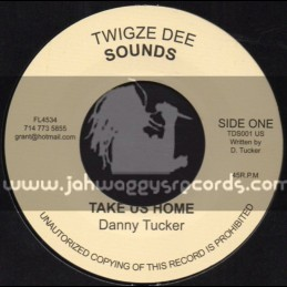 """Twigze Sounds-7""""-Take Us Home / Danny Tucker"""