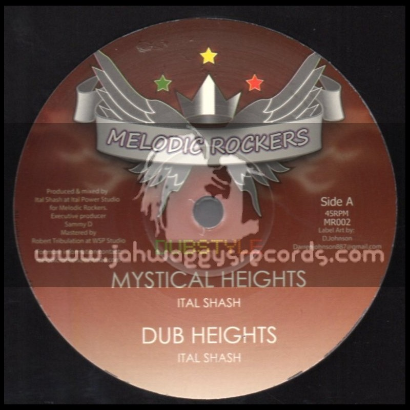"""Melodic Rockers-12""""-Mystical Heights + Healing Of The Nation / Ital Shash"""