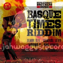 "Revolutionary Brothers Music-Vol 1-10""-Basque Times Riddim / Tenor Fly, General Levy, Marina P & King Konsul"