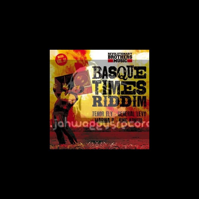 "Revolutionary Brothers Music-Vol 1-10""-Basque Times Riddim / Tenor Fly, General Levy, Marina P & King Konsul"