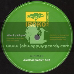 "Iroko Records-12""-La Montagne Sainte + Amicalement Dub / Miniman"