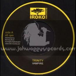 "Iroko Records-7""-Vampire / Trinity"