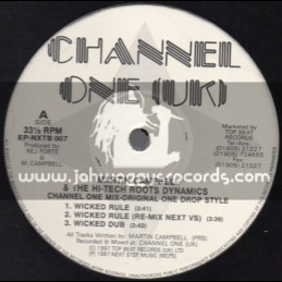 """Channel One Uk-12""""-Wicked Rule + Everywhere I Walk / Martin Campbell & The Hi-Tech Roots Dynamics(1997)"""