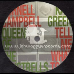 "One Drop-12""-Queen Of The Minstrells / Cornell Campbell + Tell Me What To Do / Kali Green"