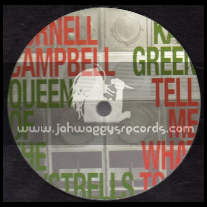 """One Drop-12""""-Queen Of The Minstrells / Cornell Campbell + Tell Me What To Do / Kali Green"""