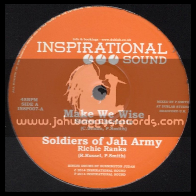 "Inspirational Sound-10""-Make We Wise/Sister Charlotte+Soldiers Of Jah Army/Richie Ranks+Vampires/El Fata"