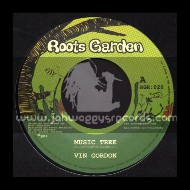 "Roots Garden-7""-Music Tree / Vin Gordon"