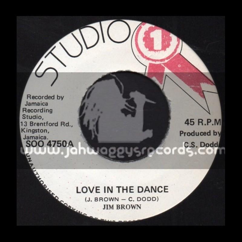 "Studio 1-7""-Love In The Dance / Jim Brown"