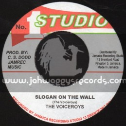 "Studio 1-7""-Slogan On The Wall / The Vicroys"