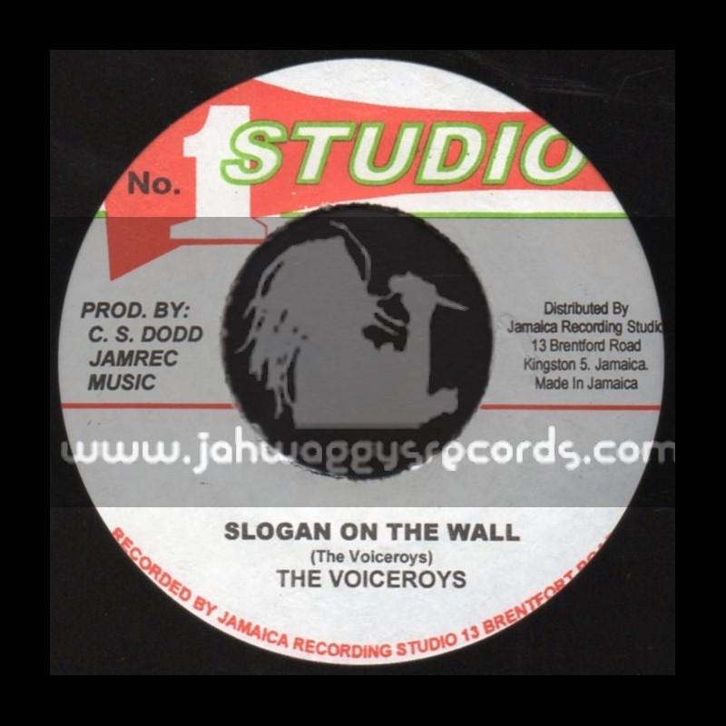 "Studio 1-7""-Slogan On The Wall / The Vicroys"