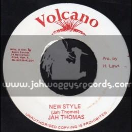 "Volcano-7""-New Style / Jah Thomas"